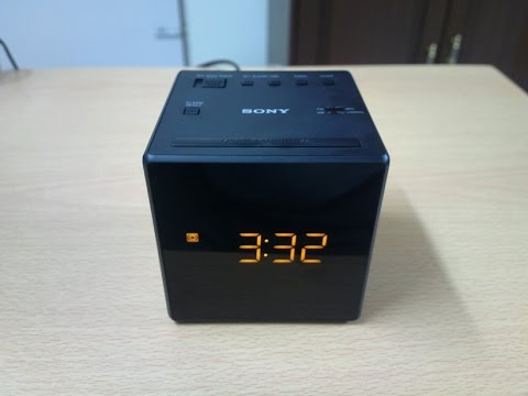 SONY ICF-C1 FM/AM Clock Radio - Unboxing and Review - Do not buy  till you see this.description too