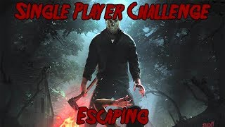 Friday The 13th Game Single Player Challenge Escaping Figuring Out All Objectives Part8