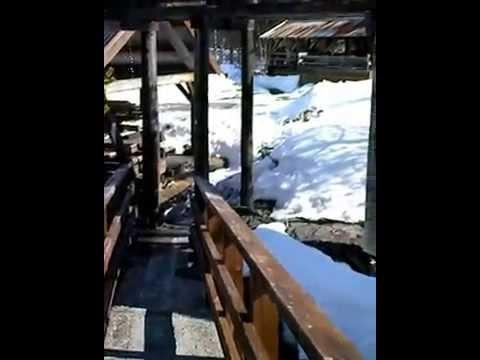 Старая водяная лесопилка в Сагелве (Sagelva Hydropower Center), Норвегия