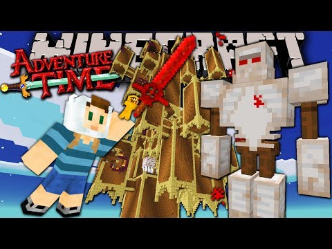 Minecraft: Adventure Time - Dark Tower Terror - Trapped In Twilight Forest! - Episode 11 video