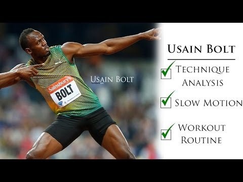 Usain bolt workout