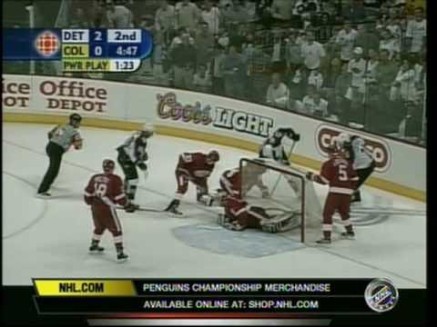 2002 Playoffs - Red Wings @ Avalanche Game 6 (NHL-N) Video
