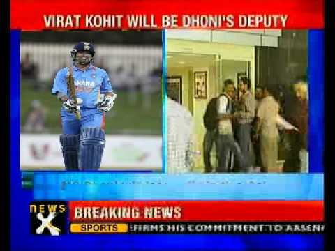 Asia Cup: Sachin in, Sehwag out; Kohli to be Vice-Captain - NewsX