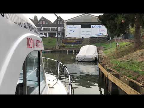 "Camping mit Boot an der Mosel.  ""Gülser Sportboothafen"""