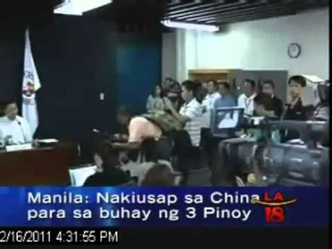 China set to execute 3 Filipino's Mon, Feb 21, 2011