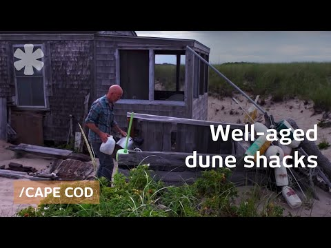 Dune Shacks: taste of Cape Cods' floating & well-aged homes