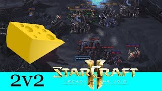 Käse? Haben wir auch! - Starcraft 2: Legacy of the Void 2v2 [Deutsch | German]