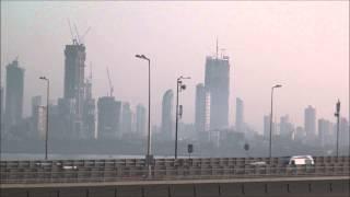 A Look at Soaring Skyline Of Mumbai Taken near Bandra Worli Sealink at Bandra