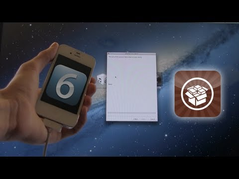 NEW Jailbreak iOS 6 Semi Tethered 6.0 iPhone 4.3GS & iPod Touch 4
