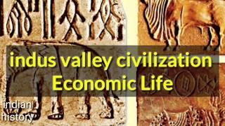indus valley civilization economic life