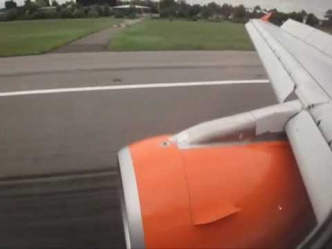 A flight with EasyJet Airlines