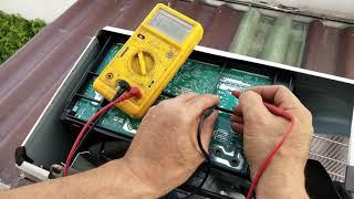 แนวทางเช็คซ่อมแอร์บ้าน MITSUBISHI ELECTRIC INVERTER R32 รุ่น MUY-KP18VF-TH1 ตอนที่1