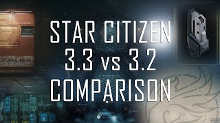 Star Citizen: 3.3 vs. 3.2 comparison
