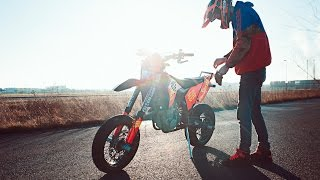 The last Supermoto stunt ride | Mäx Sneaker | Hamburgwheeliekidz
