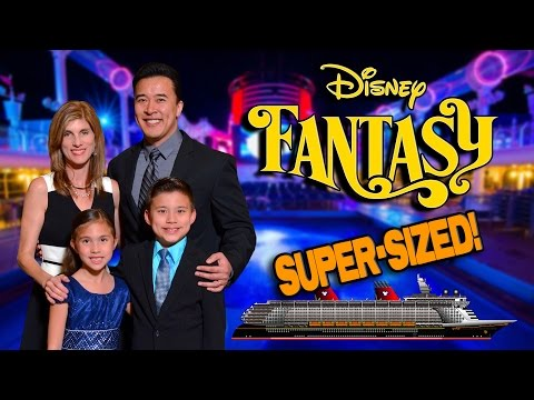 DISNEY CRUISE MOVIE!!! Disney Fantasy Cruise Week Complete Adventure! [SUPER SIZE ME WEEK]