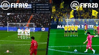 FIFA 20 VS FIFA 19 GAMEPLAY COMPARISON! 5 GAMEPLAY CHANGES in FIFA 20 THAT MAKES A DIFFERENCE!