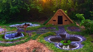 Secret Of Primitive: Update Underground House Courtyard​