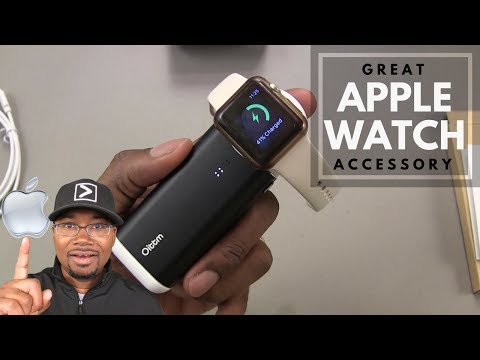 Oittm 5000mah Portable PowerBank Charger for Apple Watch - Full Review - Great Apple Watch Accessory