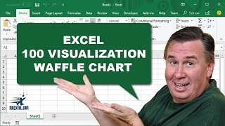 Learn Excel 2013 - 100% Visualization in Excel: Podcast #1652
