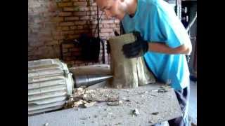 колим плохие дрова (Cone wood splitter)