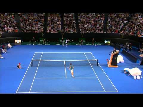 Federer v Tsonga Amazing Match Point
