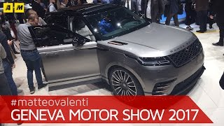 Range Rover Velar, il SUV che spaventa i tedeschi | Salone di Ginevra 2017 [ENGLISH SUB]