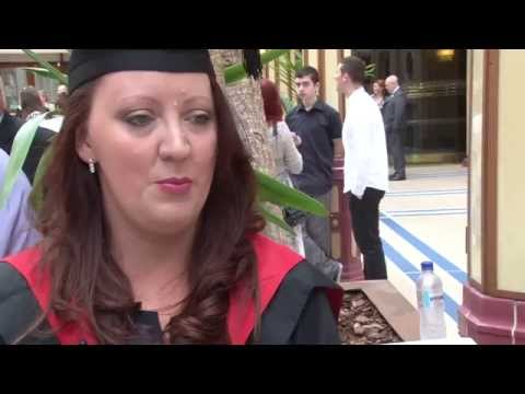 Footage from the Blackpool and The Fylde College Graduation Ceremony held at the Blackpool Winter Gardens Empress Ballroom.