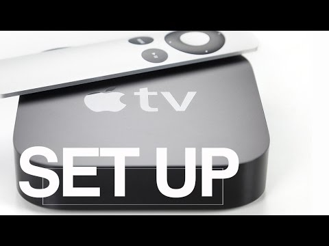 How do I set up and manage DIRECTV NOW on Apple TV