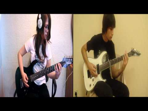 Iron Maiden - Fear Of The Dark Cover By Juli And Luka video