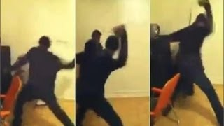 CAUGHT Father Who Beat His Girls For Allegedly Twerking & Sneaking Out The House