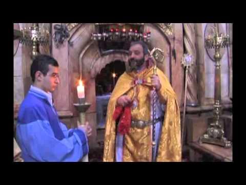 Easter Sermon of B  Bagrat Galstanyan in Jerusalem