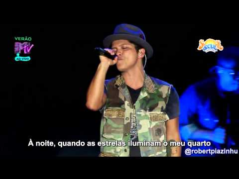 Bruno Mars - Talking To The Moon (live Hd) Legendado Em Pt- Br video