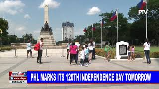 PHL marks its 120th Independence Day tomorrow