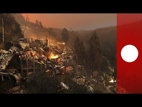 Chile inferno kills 12 in Valparaiso