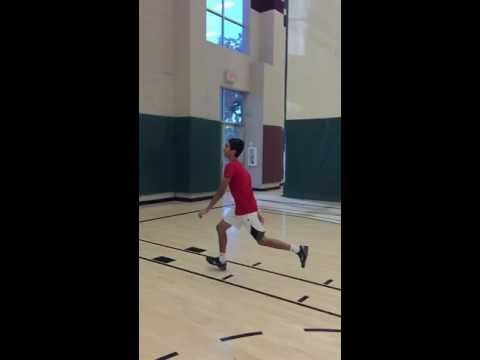 13 year old touches nba rim (only 5 feet 6 inches tall)
