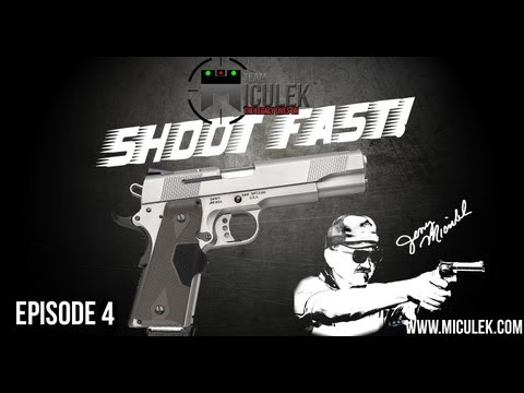1911 Pistol Speed Shooting- Shoot Fast! With Jerry Miculek