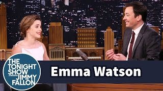 Emma Watson Once Mistook Jimmy Fallon for Jimmy Kimmel