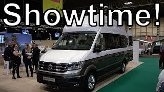 Vlog 33: Visiting the Caravan, Camping and Motorhome Show 2019 at the Birmingham NEC