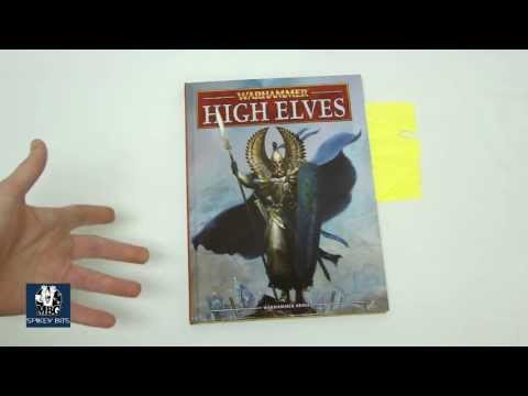 High Elves Army Book First Look Review Warhammer Fantasy
