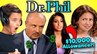 Kids React To Dr. Phil