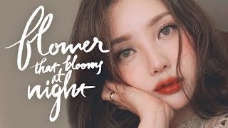 🥀Instagram Makeup-Flower that Blooms at night (With subs) 인스타 메이크업 - 밤에 피는 꽃