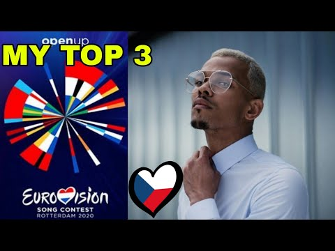 Eurovision 2020 | My top 3 (so far) [NEW:Czech Republic