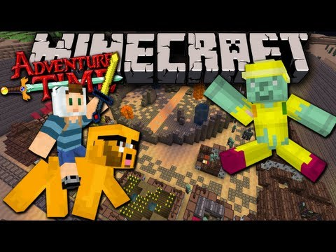 Minecraft: Adventure Time Map Quest in Ooo with Jake Ep. 5 Magic Man the Goblins