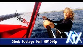 Windsurfer In Action | Stock Footage - Videohive