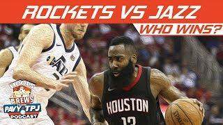 Who Wins Houston Rockets vs Utah Jazz | Hoops N Brews