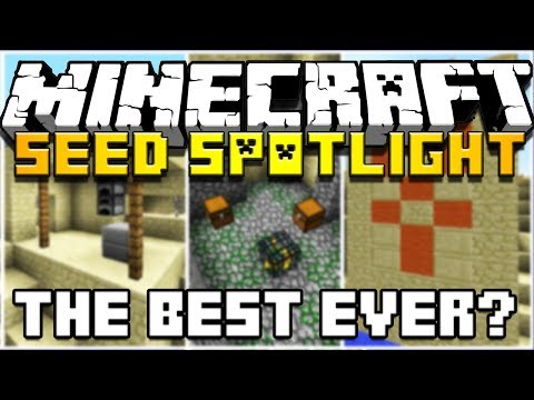 Minecraft: Seed Spotlight THE BEST 1.7 SEED EVER HD