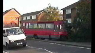 Crash! Bus & HGV Accident Northolt Church Road