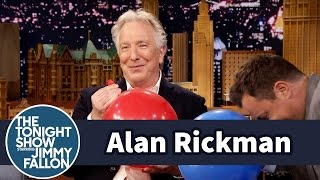Alan Rickman Takes Jimmy to Task for His Impersonation