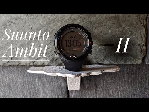 Suunto Ambit 2 GPS Watch Review
