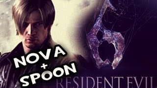 Resident Evil 6 2nd Demo_ Leons Campaign w/Nova & Sp00n Co-op Pt.1
